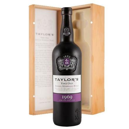 1968 Taylor's Very Old Single Harvest Port