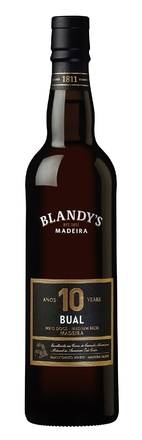 NV Blandy's 10 Year Old Bual, Madeira 50cl