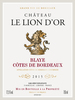 Chateau le Lion d'Or, Blaye, Cotes de Bordeaux